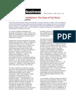 XEROX Benchmark Story  Case Study   Benchmarking   Photocopier SP ZOZ   ukowo