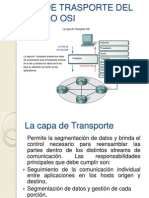 Redes 1 Modelo Osi-capa de Transporte