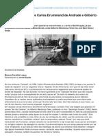 Totememtabu.blogspot.com.Br-A Cumplicidade Entre Carlos Drummond de Andrade e Gilberto Mendona Teles