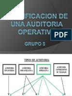Planificacion de Una Auditoria Operativa