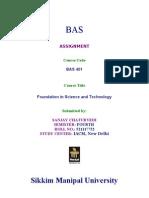 Assignment Sanjay 401