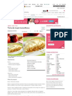 Receita de Torta de maçã maravilhosa - Culinária - MdeMulher - Ed