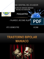 Trastorno Bipolar Maniaco Org