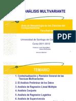 tema 1. Contextualización y revisión general de las técnicas multivariantes