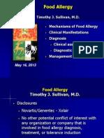Food Allergy 2013