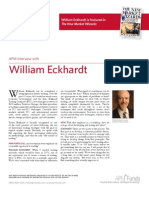 William Eckhardt - APM interview