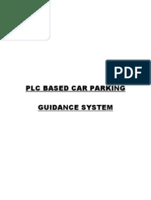 Plc Based Car Parking Guidance System | Programmable Logic