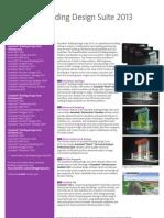 Autodesk Building Design Suite 2013 Whats New Brochure En