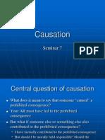 Seminar 7 Causation