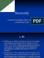 Seminar 15 Necessity