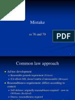 Seminar 17 Mistake