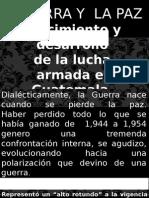 Guerra y Paz en Guatemala