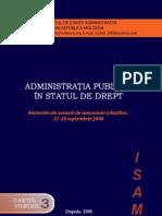 Studii privind administratia publica