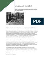 Los documentos inéditos de la Guerra Civil