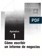 2013 03 14 Teoria Informe de Negocios