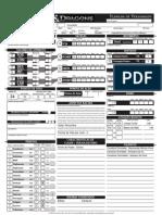 Planilha de D&D 4° Edição (Invocador)