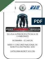 Reglamento Soccer Riotronic 2013