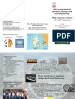 Leaflet 2013- Micro Summer School