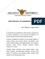 Ponenecia IX Encuentro de Historiadores de Sinaloa