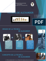 Tecnica de Alexander
