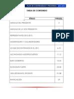 Plan de Continuidad y Progreso 2013-2016