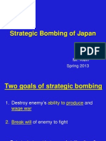 Strategic Bombing - Atomic Bombs - JP Surrender