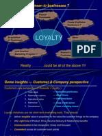 30443853 Brand Loyalty Ppt
