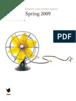Spring 2009 IPG General Trade Titles