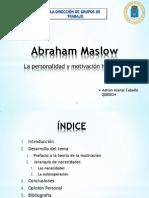 2. Abraham Maslow_Presentación