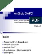 4. Análisis DAFO - grupo 2 - presentación