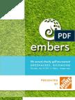 Embers Golf Tournament 2013 - Player Registration
