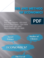 [Presentation] the Scope and Method of Economics