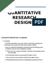 Quanti Research Design