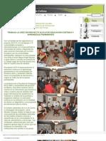 TRABAJA LA UDEC EN PROYECTO ALFA III DE EDUCACIÓN CONTINUA YAPRENDIZAJE PERMANENTE