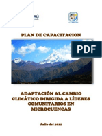 Plan de Capacitacion Lideres