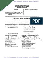 Mougin Stipulated Order of Dismissal