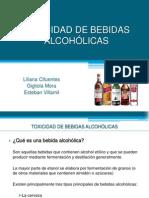 Toxicidad Alcohol