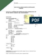Ejercicios Resueltos Del Curso de Micro Controlador Atmega8