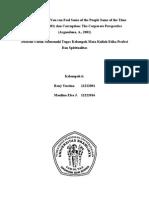 Enron Story and Corruption (Argandona)