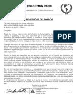 OEA Bienvenida