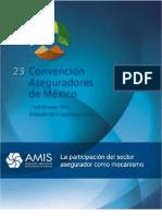 La participación del sector asegurador como mecanismo, Conferencia Jesús Guzmán Ovando - 7 de mayo de 2013