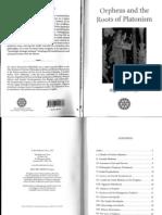 Algis Uzdavinys Orpheus and the Roots of Platonism 2011
