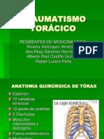 TRAUMATISMO TORÁCICO