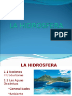 LA HIDROMASA OCEÁNICA