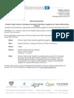 May 16 PHS Granbury Media Advisory