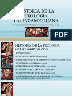 Historia de La Teologia Latinoamericana
