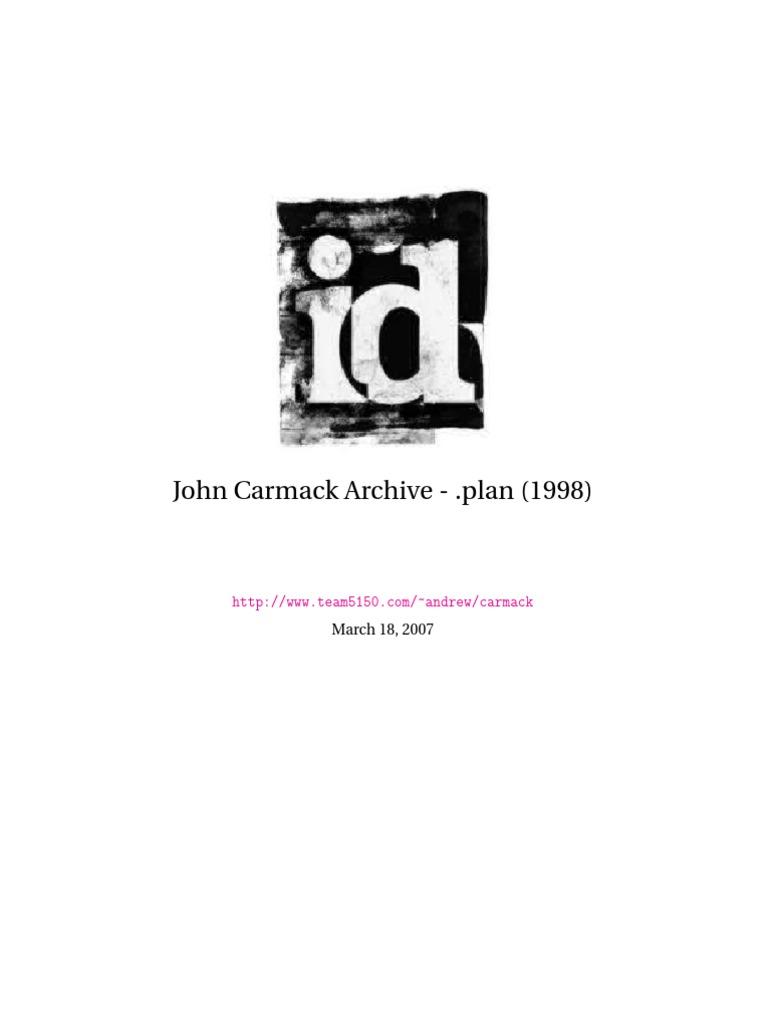 John Carmack Archive
