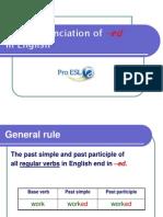 The Pronunciation of Edf