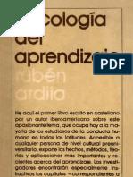 Ruben Ardila - Psicologia Del Aprendizaje