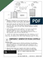 Emergency Generator Room Controls